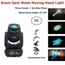 2 XLot новейший 200 Вт светодиодный движущийся головной свет электронные пятна 3в1 светодиодный сценический свет идеально подходит для DJ диско-огни Клубные вечерние шоу luces