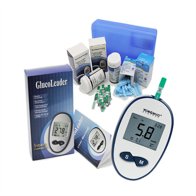 US $8 74 25% OFF|Aliexpress com : Buy New bloodsugar meter with 50/100pcs  strips and lancets bloodglucose meter healthcare bloodsugar teater medical