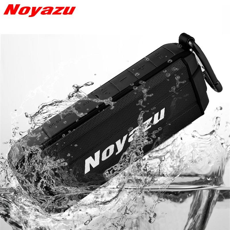 Noyazu Wireless Bästa Bluetooth-högtalare Vattentät Portabel - Bärbar ljud och video