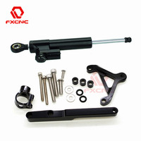 For Honda CB1000R CB 1000R 2008 2012 2009 2010 2011 CNC Motorcycle Steering Damper Stabilize Bracket Mounting Kit Support