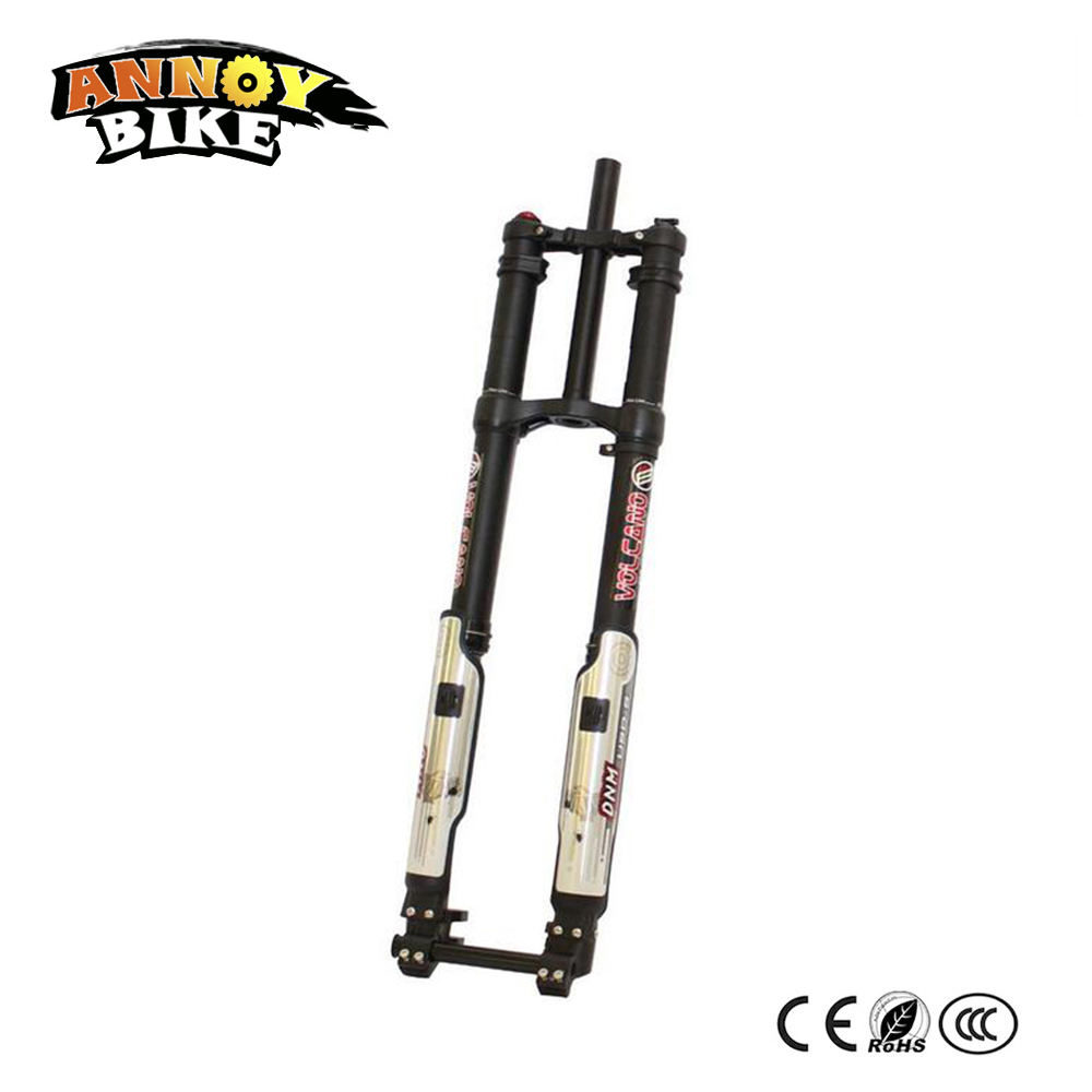USD-8 24 26 27.5 203mm Double Shoulder Air Suspension Fork Downhill DH/ FR Fork For Stealth Bomber Electric Bike Montain Bike литой диск replica fr lx 98 8 5x20 5x150 d110 2 et54 gmf