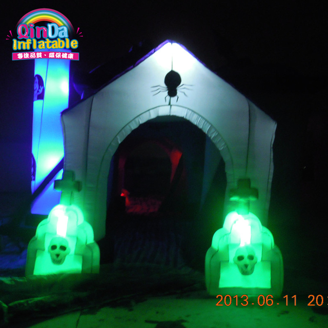 Halloween toys china wholesale airblown inflatables inflatable haunted house