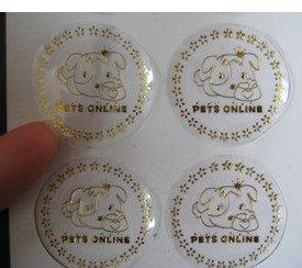 Online Get Cheap Round Foil Labels Aliexpresscom Alibaba Group - Custom gold foil stickers