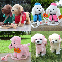 New 2015 Electronic Toys High Quality Electronic Pets Dog Plush Dog Singing Walking Interactive Toys Children