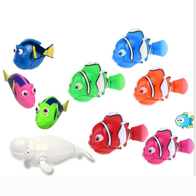 2017 movie finding dory clown fish nemo electric diving robot toys