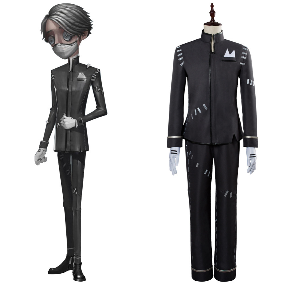 Identity V Cosplay Costume Isso Carr Cosplay Costume Survivor Hot Game Outfit Uniform Halloween Carnival Custom Made