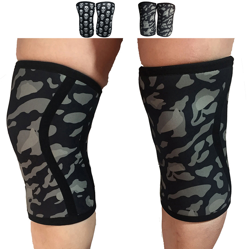 2cc3358e93 ... OutdoorsFitnessSaFit 7 mm Neoprene Knee Sleeves Weight Lifting  Powerlifting Fitness Running Knee Pad Brace Cap Support Compression. Sale.  Previous