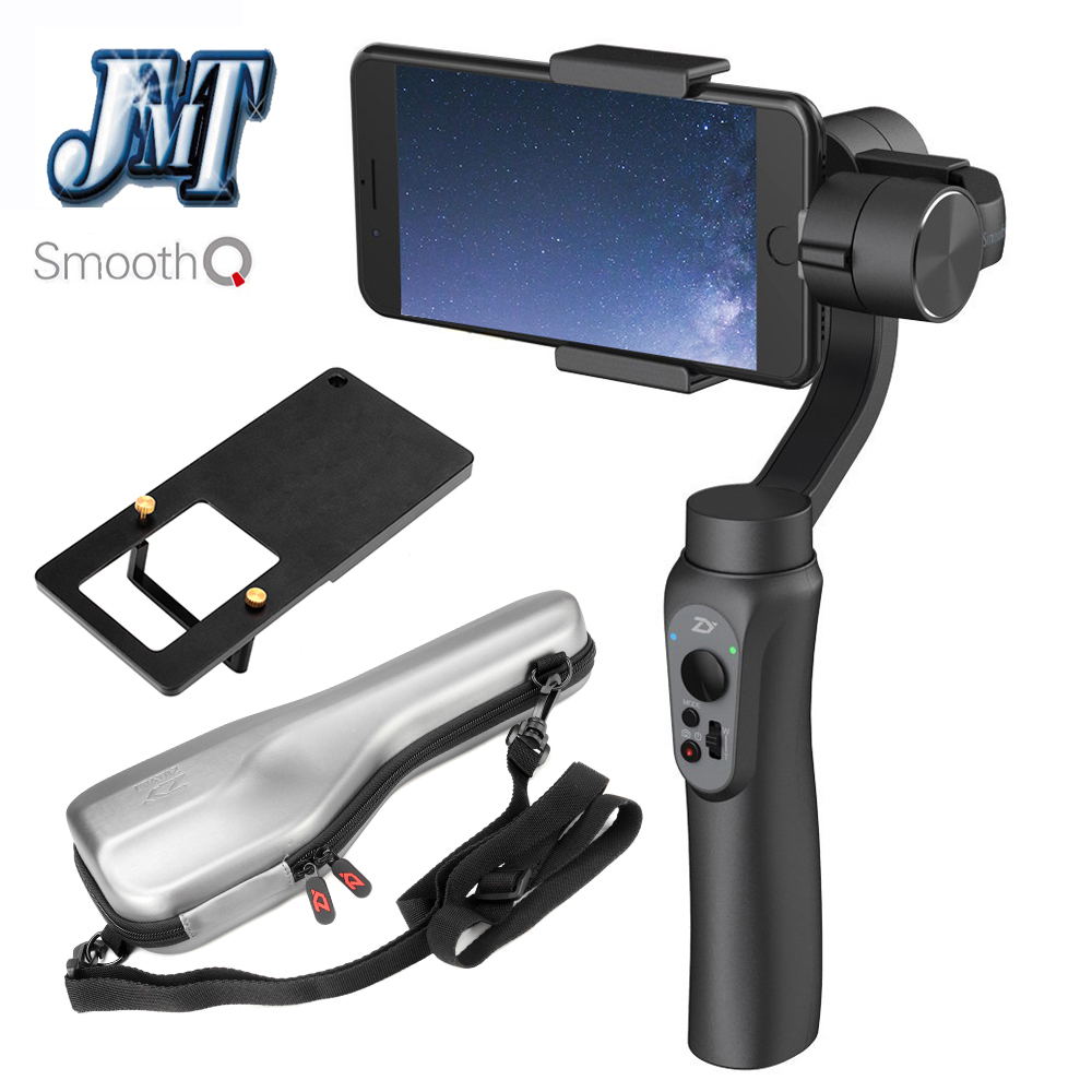 JMT Zhiyun Smooth Q 3-Axis Handheld Smartphone Gimbal Stabilizer Smooth-Q VS Zhiyun Smooth III for iPhone 7 Plus Samsung S7 S6