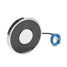 цена на 70/9 Holding Electric Magnet Lifting DC 6V 12V 24V 20kg/200N Pure Copper Coil Solenoid Sucker Electromagnet