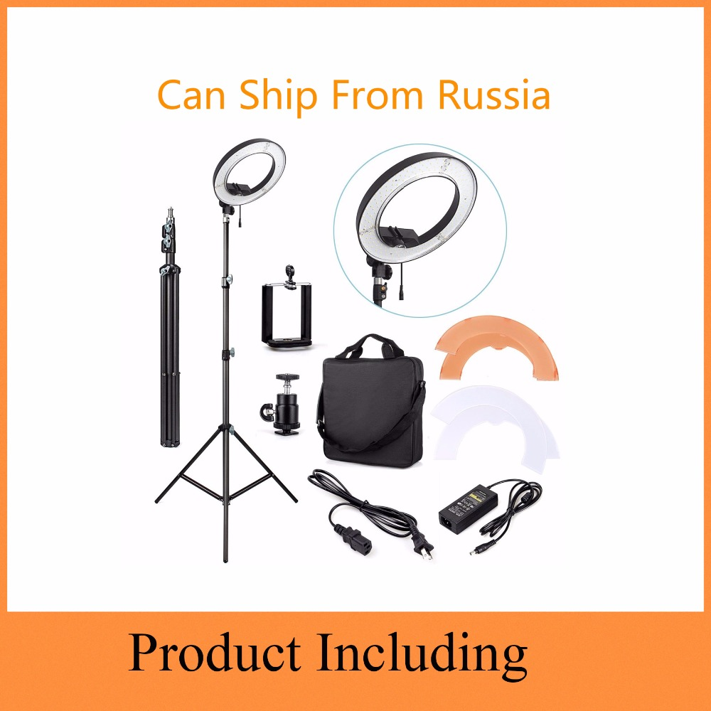 55W 5500K LED Ring Light 240pcs For Camera Photo Studio Phone Video Photography Photographic Lighting Dimmable