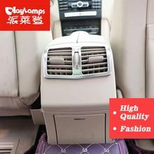 Фотография Car-Styling For Mercedes E-Class E200L E260L E300L air conditioning vent decorative frame ABS Inner Sticker Auto Accessories