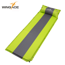 WINGACE Camping Mat 195*66*3CM Inflatable Mattress Sleeping Pad Portable Ultralight Outdoor Tent Bed Air
