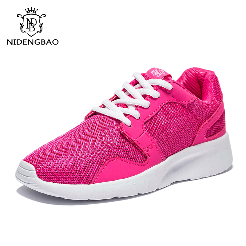 Women Shoes Breathable 2018 Spring Casual Shoes Woman Platform Lace Up Female Footwear Air Mesh Super Light shoes for Female 2018 new summer women casual shoes lace up woman sneakers breathable flat footwear female mesh shoes fashion dt926