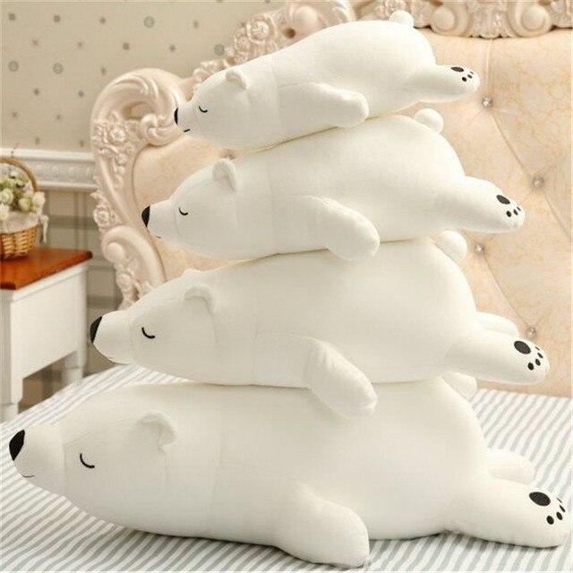 Плюшевая игрушка Белый медведь 45 см 3