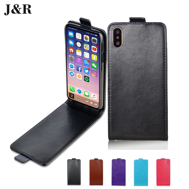 best website c6a90 805bf US $8.5 |Luxury Leather case for Apple iphone X flip cover housing for i  phone iphoneX AppleX phone covers cases phone bags-in Flip Cases from ...