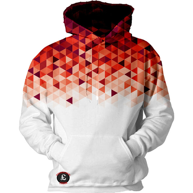 429c30a08 Cloudstyle Red Fade Hoodies 3D Hoodies Long Sleeve Hoody College Tracksuits  Fashion Pullover Men's Winter Harajuku Sportswear
