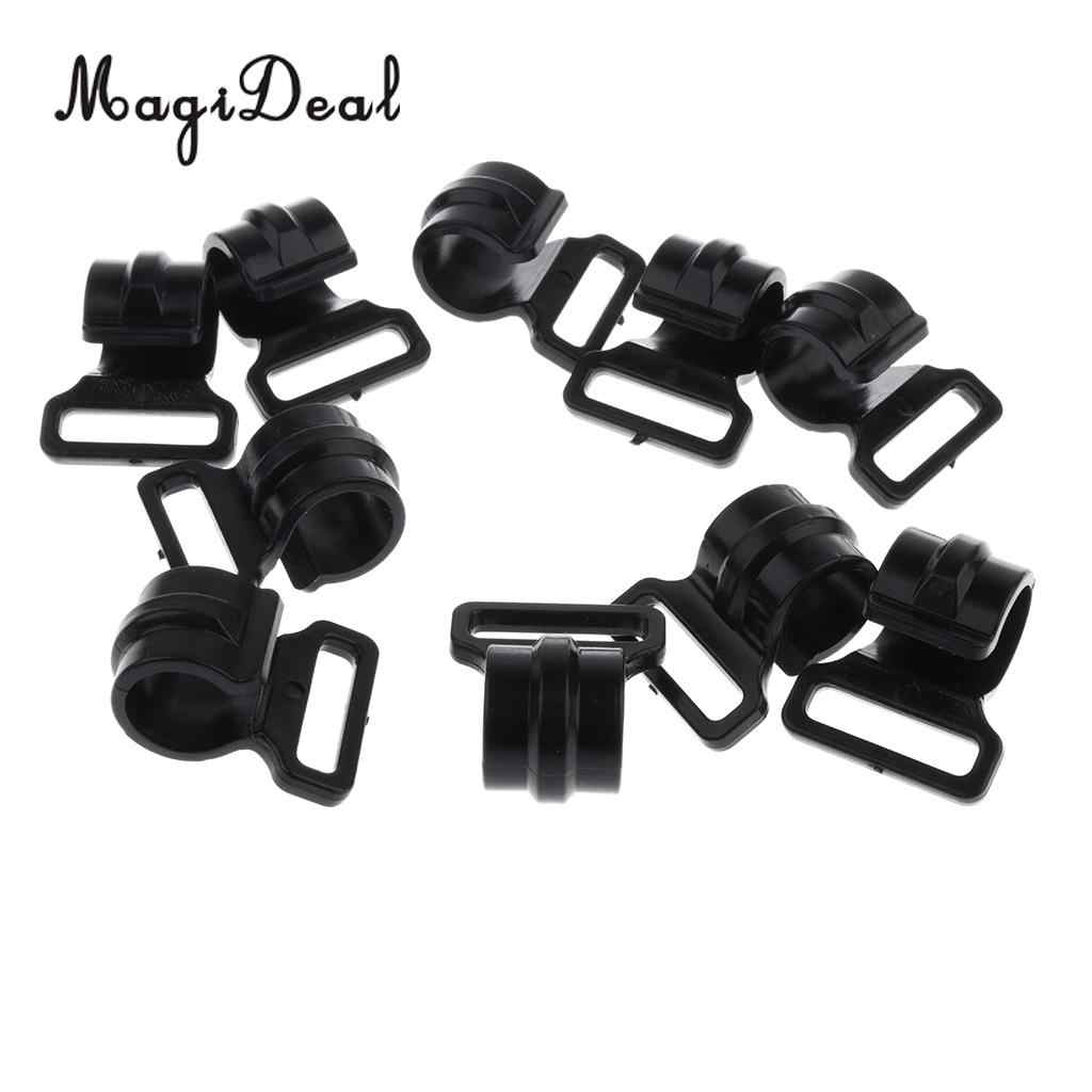 30pcs Camping Tent Clips Tent Hook Accessories High-strength Fasteners 2.5cm