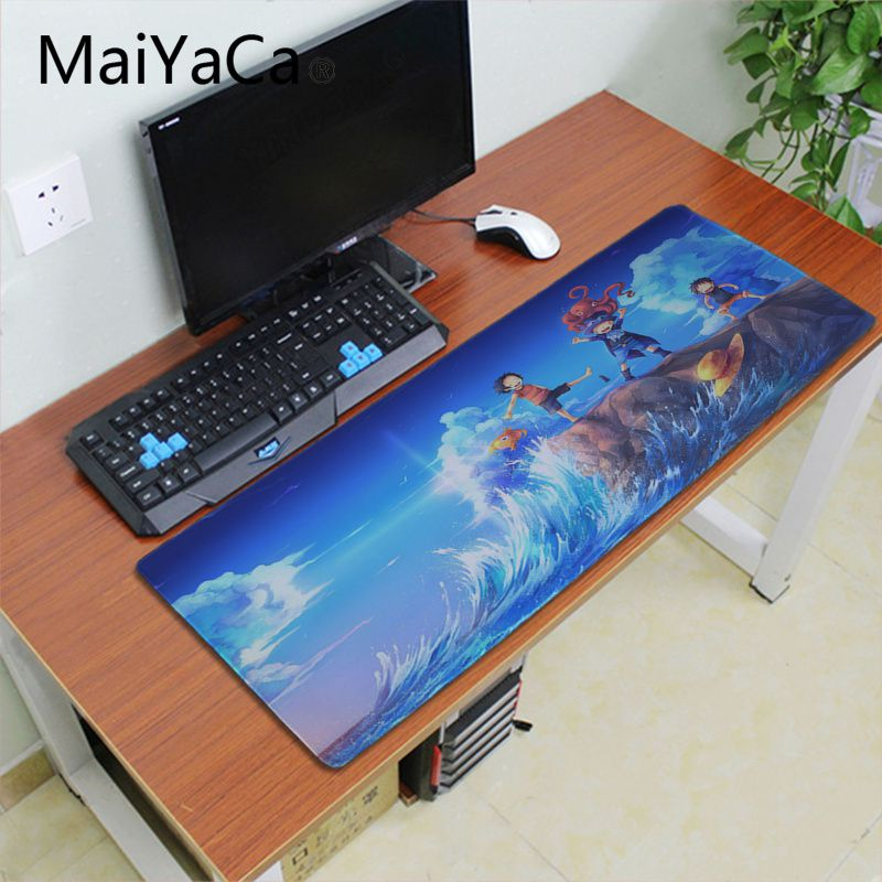 ALI shop ...  ... 33007748377 ... 4 ... Maiyaca one piece japan anime Rubber Mouse Mat Pad alfombrilla gaming mouse pad xxl Speed Keyboard Mouse mat Laptop PC desk pad ...