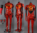 Free shipping Custom-made Neon Genesis Evangelion EVA Soryu Asuka Langley Cosplay Costume
