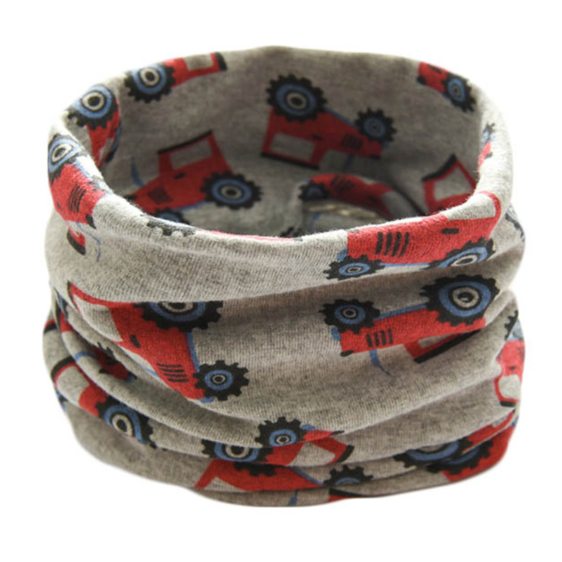 Children Autumn Winter Warm Scarf Boys Girls Collar Baby Neckerchief Scarves