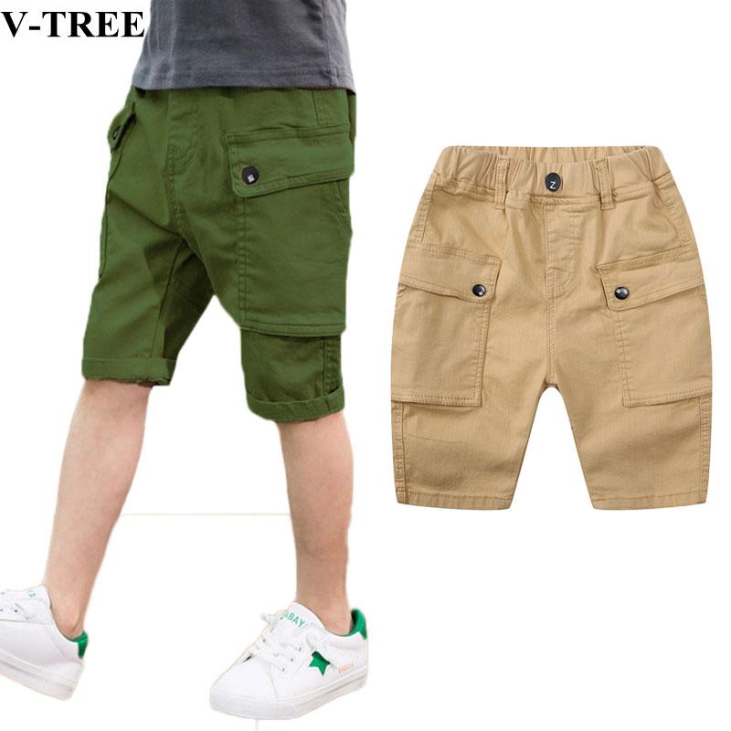 2019 Summer Boys   Shorts   Cotton Teenager Pants Casual Pants For Kids Children   Shorts   School Baby Sports   Shorts   Kids Baggy Pants
