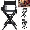 Shellhard Professional Foldable Makeup Artist Directors Chair Painter Lightweight Tall Chair Set Living Room Furniture