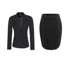 women work suits professional  uniforms  double breasted  blazer   Costumes for women Skirt suit Suit and skirt 1 set