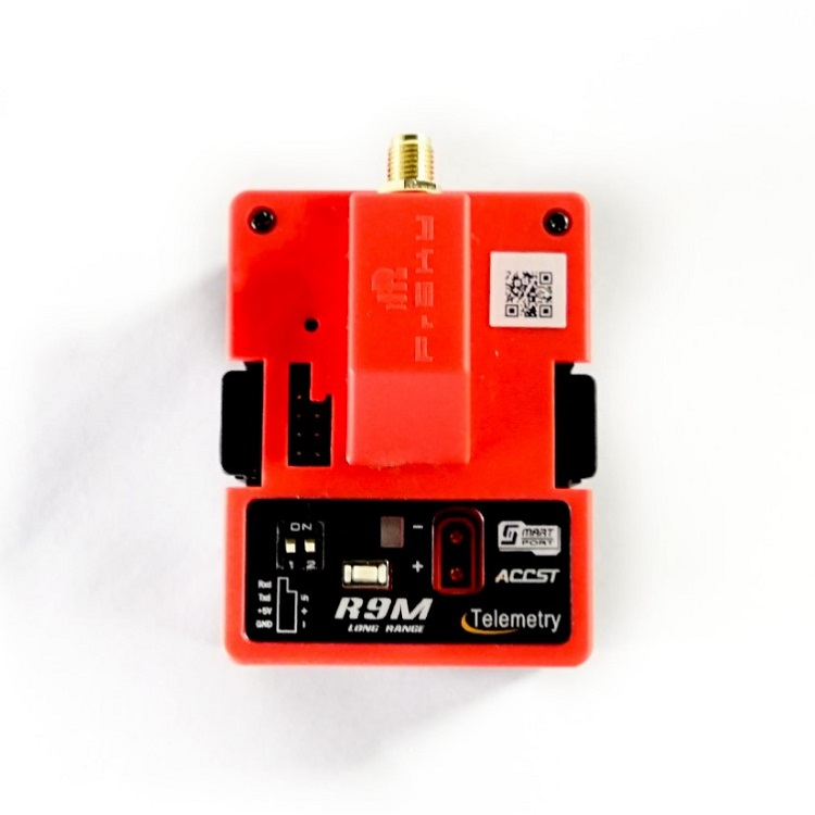 1PC FrSky R9M 900MHZ Long Range Extender Module Signal Booster Module Receiving Module For FrSky R9 Transmission Photography point 4 infrared receiving module 4 receiving module infrared receiver module remote control