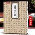 Китайская каллиграфия  копирайтер с надписями из камня  кисточек для письма  Вэнь Чжэн мин Сяо Кай  персонаж 71 страницы 21*29 5 см