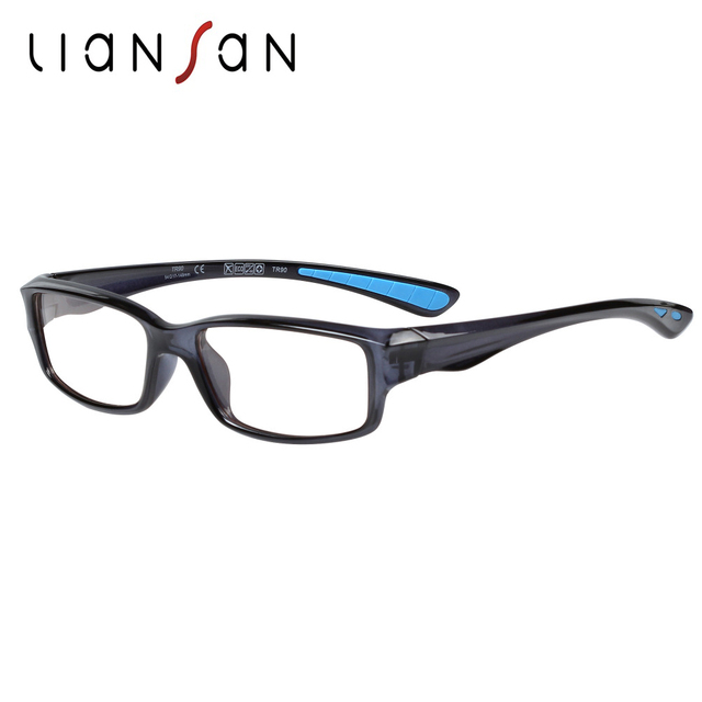 9e8145504c LianSan Fashion Vintage Retro TR90 Sport Reading Glasses Frame Women Men  Luxury Brand Designer Lightweight Eyeglasses L8515TR