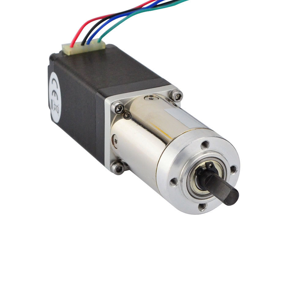 Motore Passo-passo Nema 11 51: 1 Planetary Gearbox Nema11 Orientata Motore Passo-passo 0.67A 4-piombo per CNC RobotMotore Passo-passo Nema 11 51: 1 Planetary Gearbox Nema11 Orientata Motore Passo-passo 0.67A 4-piombo per CNC Robot