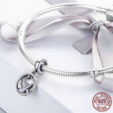 New 925 Sterling Silver The Dream Of Traveling Dangle Beads Fit Original Charm Bracelet DIY Jewelry Gift CQC242 недорого