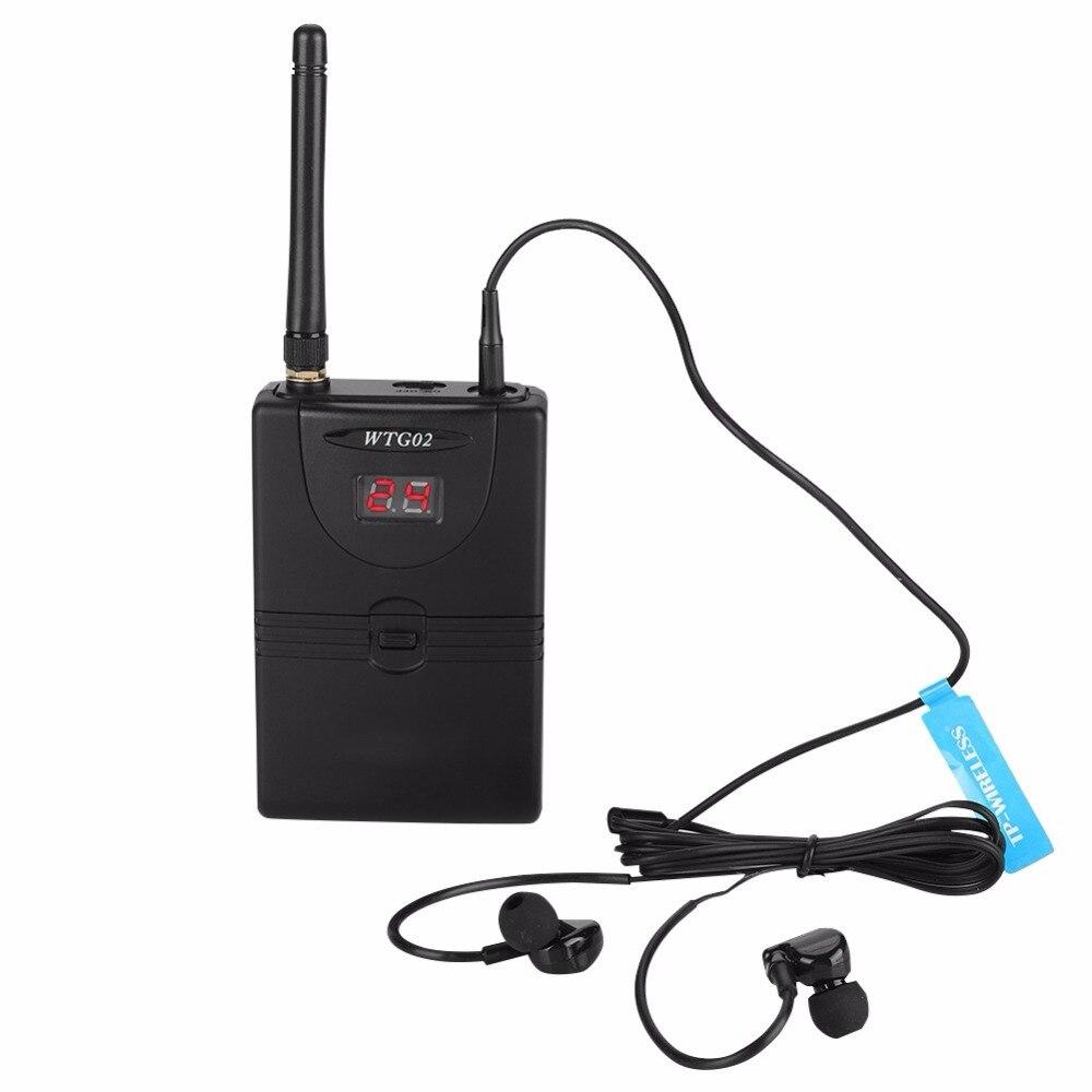 WMS02 Wireless In Ear Monitor Systeem 2.4 GHz Professionele Digitale In Ear Monitor Op Stage Audio Systeem-in Microfoons van Consumentenelektronica op  Groep 1