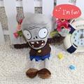 30 см серый зомби растения против зомби плюшевые куклы чучела животных игрушек подарок на день рождения продвижение