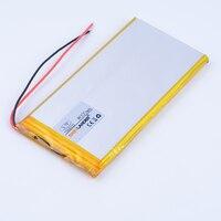 7565121 3.7 V 8000 mAh Li-ion Recargable de polímero de litio Banco de la Energía de Batería Para Tablet pc MID panel de Libros Electrónicos Portátiles de Consumo