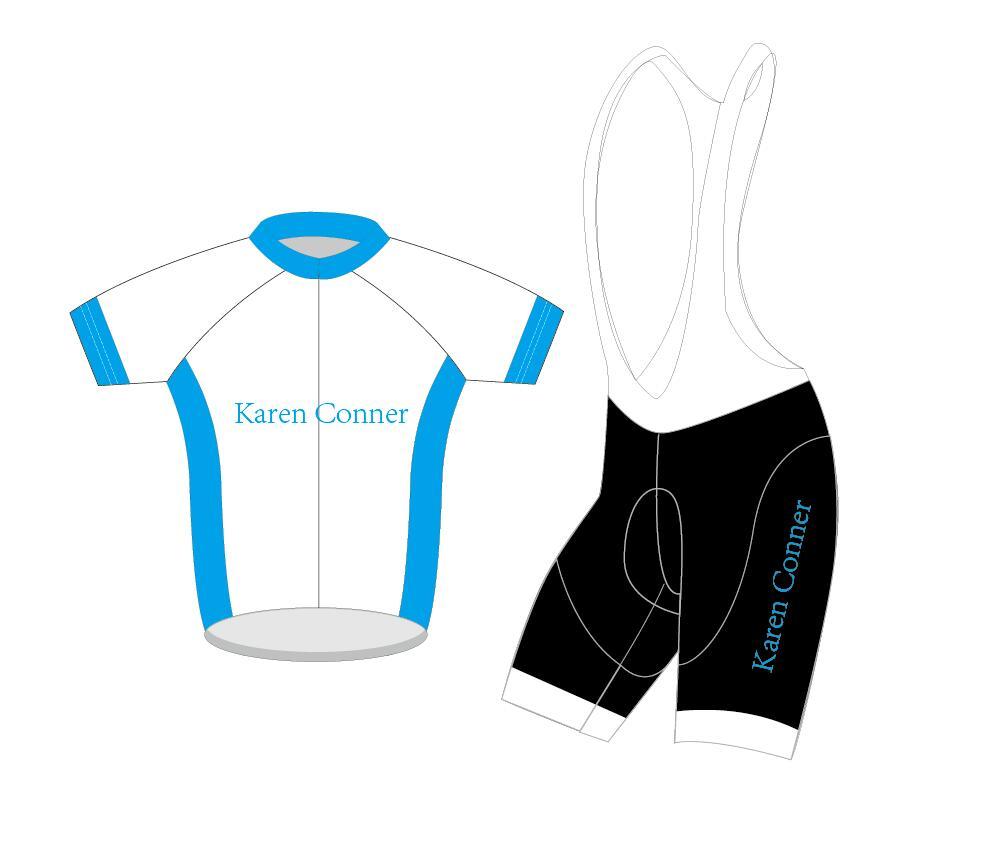 karen connor DIY Custom Cycling SET