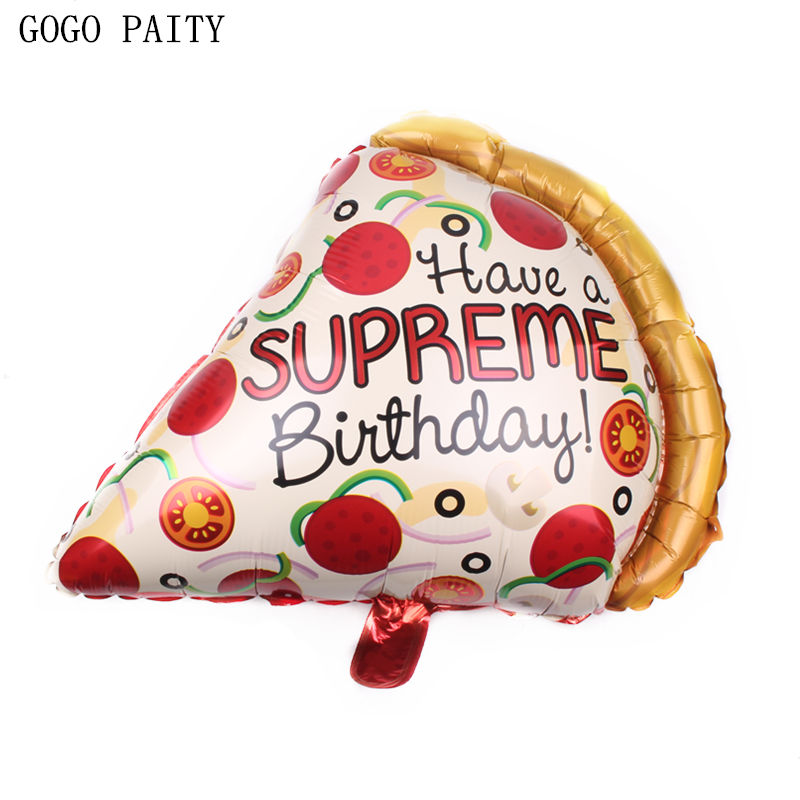 GOGO PAITY New cake shape aluminum balloon baby birthday party decoration decorative inflatable toys high quality