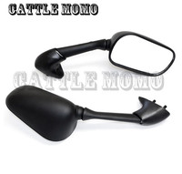 Motorcycle Rearview Mirror Black For Yamaha YZF R6 R1 1998 1999 2000 2001 2002 Motorcycle Side Mirrors Motor Rear View Mirrors