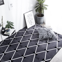 European style marble pattern Thicken carpet Flannel living room coffee table mat Nordic tatami Rectangle Rugs and Carpets