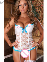 Sexy Lingerie Women Top Lingeries Underwear Hot Sexy CostumesErotic Lingerie Lace Sleepwear Dress