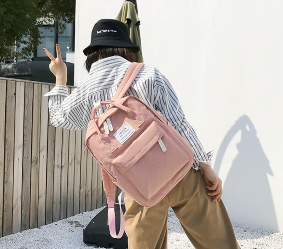 HTB1hwoPKb5YBuNjSspoq6zeNFXa8 Yogodlns Campus Women Backpack School Bag for Teenagers College Canvas Female Bagpack 15inch Laptop Back Packs Bolsas Mochila