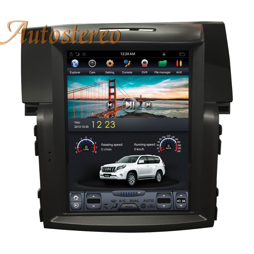 Autostereo Tesla style Car no DVD Player For Honda CRV CR-V 2012-2017 car GPS navigation headunit multimedia tape recorder PAD