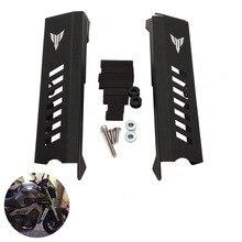 MTImport мотоциклетные боковой радиатор Защитная крышка для Yamaha MT-09 MT09 FZ-09 FZ09 MT FZ 09