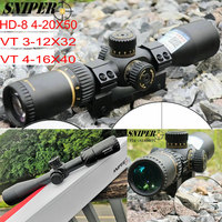 Hunting First Focal Plane Rifle Scope Reticle SNIPER VT 3 12X32 / HD 8 4 20X50 / VT 4 16X40 Tactical Optical Sight FFP Riflesco