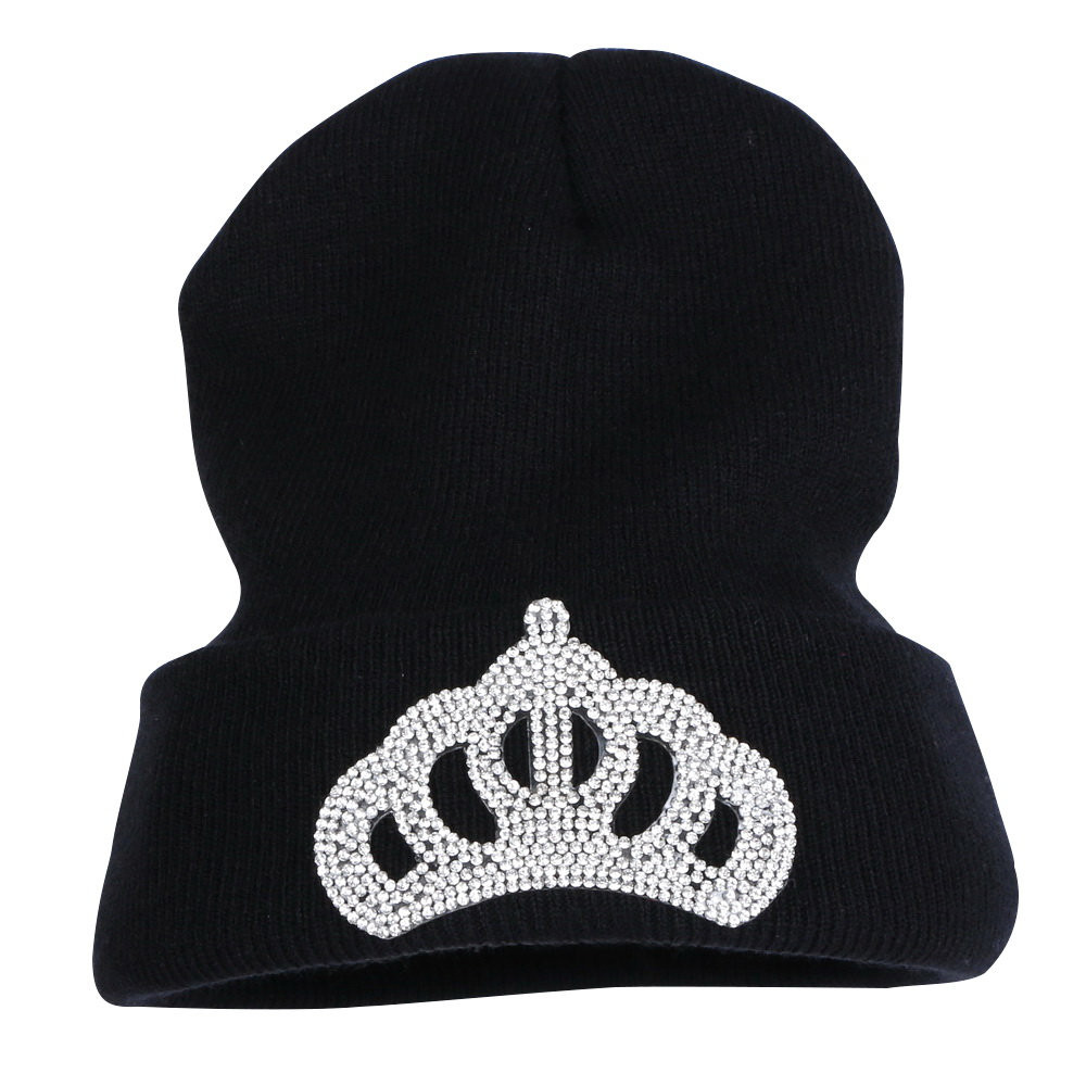 Wholesale Women Rhinestone Winter Hats With Ab Color