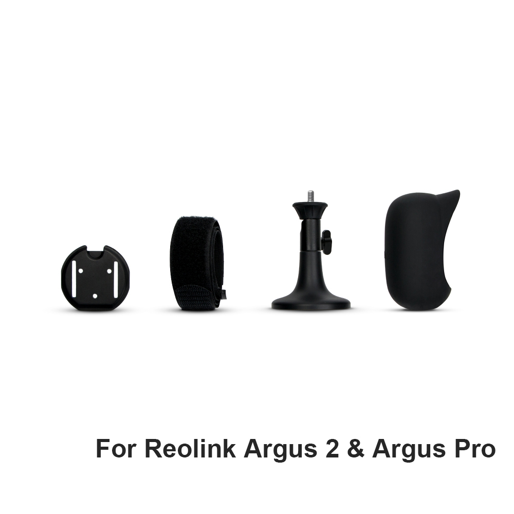 Black Skin Full Suit ONLY For Reolink Argus 2 and Argus Pro IP Camera(Not Suitable for Argus)