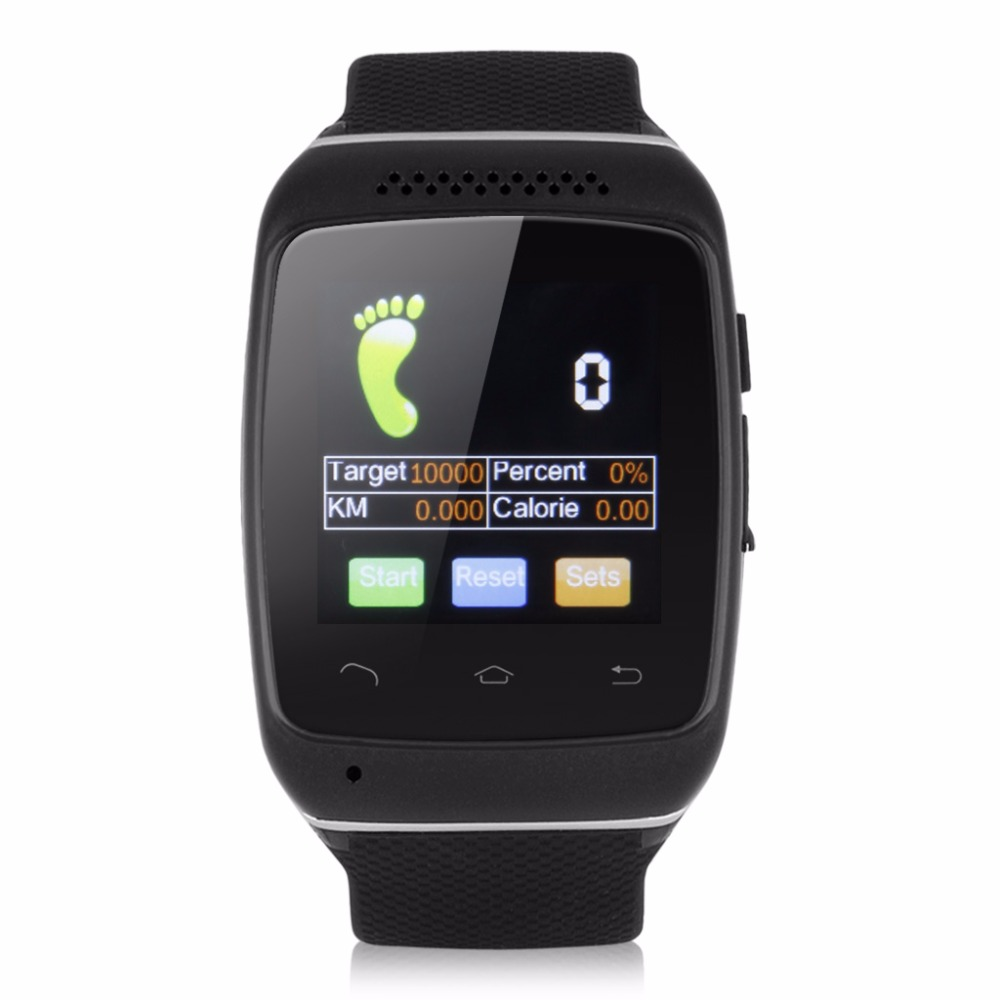 Bluetooth Smart Watch Wrist font b Smartwatch b font for Android IOS Wearable Device font b