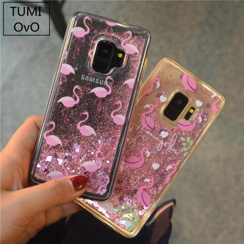 Beautiful Cartoon Mickey Minnie Mouse Glitter Liquid Quicksand Soft Case For Samsung Galaxy S8 S9 Plus S7 Edge J1 J3 J5 J7 A3 A5 2016 2017 Wide Selection; Phone Bags & Cases Cellphones & Telecommunications