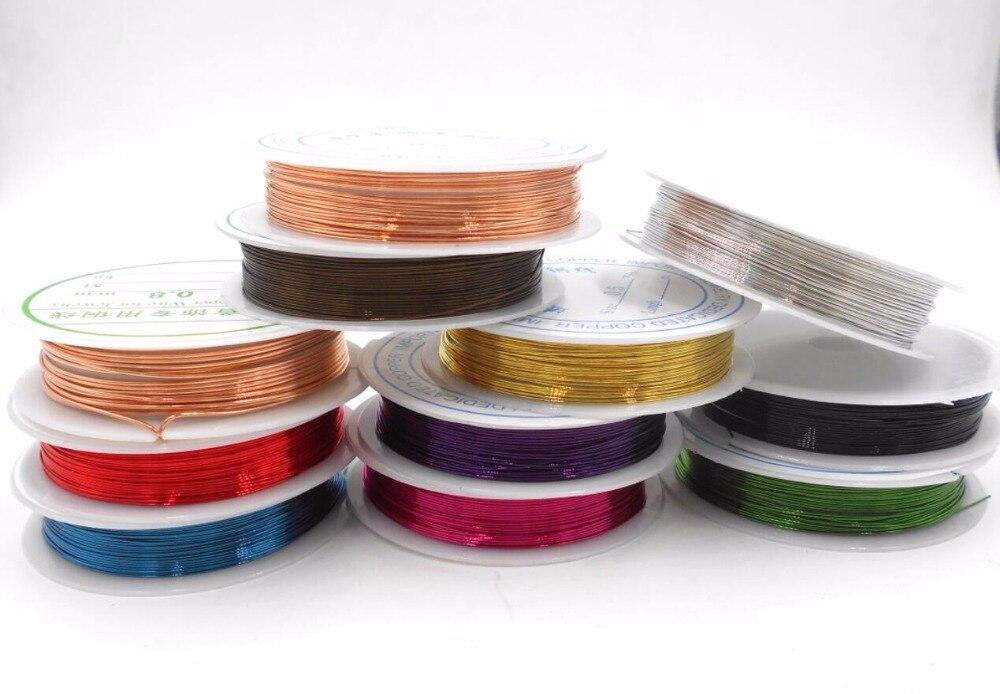 0,3 мм красного, золотого, серебряного цветов металлическая нить прямым валиковым швом Веревка Бисероплетение Ремесло Провода подходящие маркировки DIY важно ювелирные изделия Co