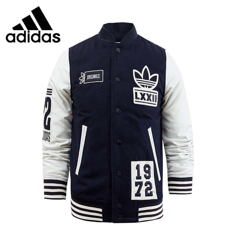 все цены на  Original New Arrival  Adidas Originals VARSITY SST Men's warm  jacket Sportswear  онлайн